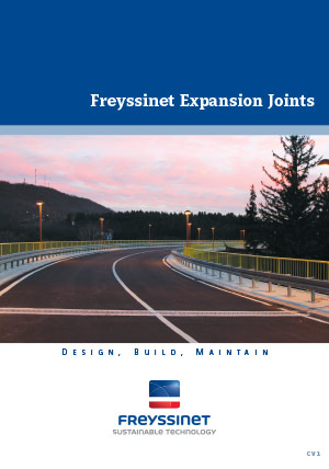Expansion joints CV2  Brochure  Freyssinet