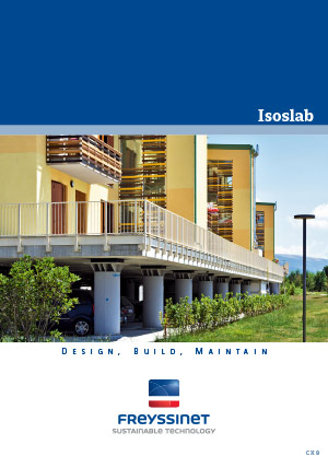 Isolab - Earthquake protection devices  Brochure  Freyssinet